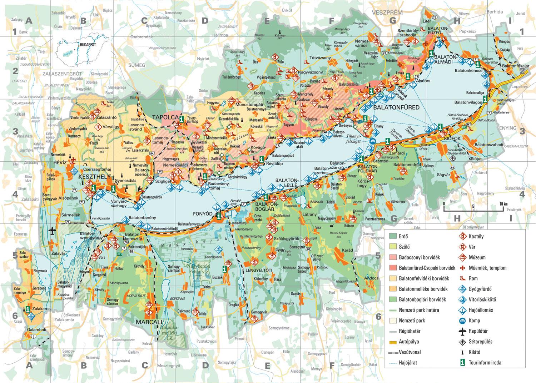 balaton térkép északi part részletes Balaton, eladó, ingatlanok, házak, nyaralók, családi, építési  balaton térkép északi part részletes