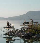 Fishing in the Lake Balaton!