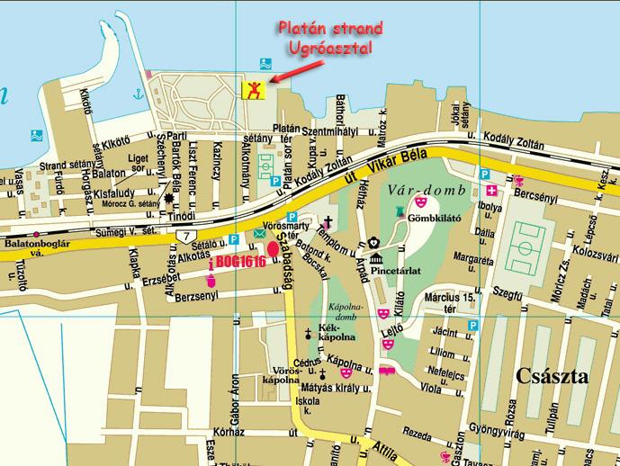 balatonboglár térkép Balatonbogláron vízpart és strand közeli nyaraló apartman 3,4,5,6  balatonboglár térkép